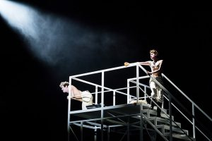 Samantha Gaul (Augusta Leigh), Holger Falk, DIODATI. Unendlich (Theater Basel)