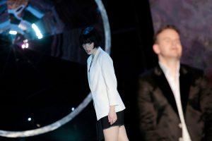 Samantha Gaul (Zerlina), Michael Borth, Don Giovanni (Theater Freiburg)