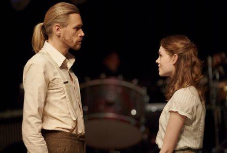 Samantha Gaul (Sophie Scholl), Giulio Alvise Caselli, Weiße Rose (Staatstheater Augsburg)
