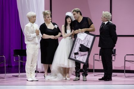 Samantha Gaul (Susanna), Ensemble, Le Nozze di Figaro (Theater Freiburg)